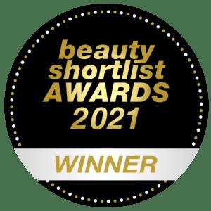 beauty shortlist awards 2021 - winner